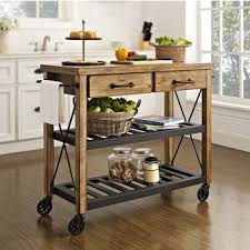 portable kitchen island with seating for 4. Crosley Furniture Roots Rack Industrial Kitchen Cart, 42\ Portable Island With Seating For 4