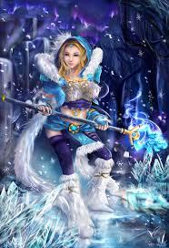 dota 2 crystal maiden by chalollita on deviantart