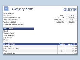 Quote Spreadsheet Template Wps Template Free Download Writer Presentation