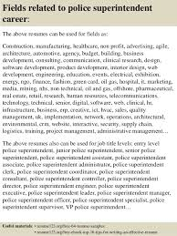 Police Administration Sample Resume Gorgeous Top 44 Police Superintendent Resume Samples