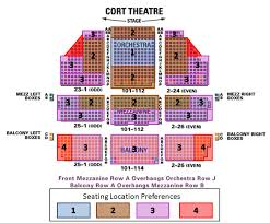 Broadway New York Seating Chart Cort Theater Seating Chart Mike Birbiglias The New One