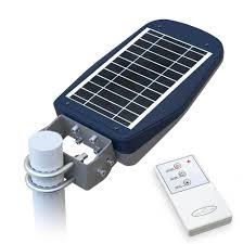 solar energy street lamp with remote control ls030led street lamp with photovoltaic panel