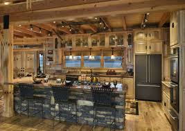 Cabin Kitchens Kitchen Room Design Cabin Kitchen Kitchen Rustic Blue Kitchen