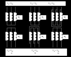 Трёхфазные и измерительные трансформаторы Реферат Способы соединения обмоток трёхфазного трансформатора