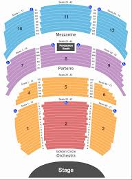 Seating Chart Park Theater Monte Carlo Wynn Las Vegas Encore Theater Seating Chart