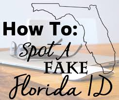 Fake How A Florida Id To Spot wYYqt1