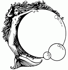 Small Picture Realistic mermaid coloring pages ColoringStar
