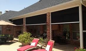 electric retractable solar screens for