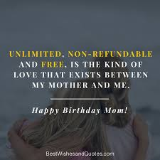 Birthday Quotes For Mom Cool Happy Birthday Mom 48 Quotes To Make Your Mom Cry With Happiness