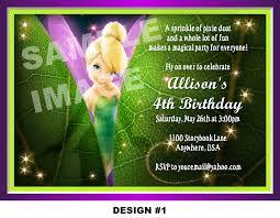 tinkerbell birthday party invitation templates tinkerbell tinkerbell birthday party invitations printable request a custom order and have something made just for you