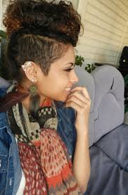 Black Hairstyles Mohawks 66 Best Images About Edgy Mohawks On Pinterest Black Women