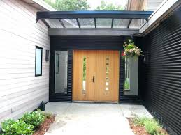 canopy front door how to choose the perfect glass canopy for your front door metal front