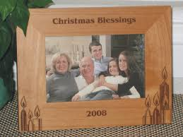 candles picture frame personalized frames laser engraved chandles
