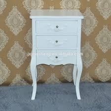 Bedroom Set Nightstand Furniture Wood Vintage Legs Bedside Table