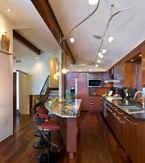 kitchen rail lighting. Here Are Several Modern Kitchen Designs With Impressive Track Lighting That Can Inspire To Add Such Lights In Your Too. Rail L