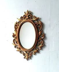 bronze wall mirrors decorative traditional vintage corative antique mirror cor large oval corating post