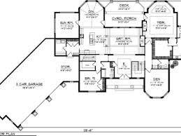 One Story House Plans Without Garage   mexzhouse comRanch House Plans   Angled Garage Ranch House Plans   Porches