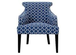 Jasmina Accent Chair Navy Black Raymour Flanigan