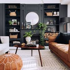20 gorgeous black living room ideas to