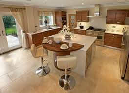 enthralling kitchen island stools with backs also wooden breakfast bar table and large travertine floor tiles