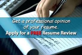 Free Resume Critique Extraordinary Free Resume Critique Services Free Resume Review Free Resume Review
