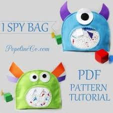 i spy bag such a neat toy quiet books 6 spy toy and bag