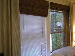 Stylish Home Depot Bamboo Blinds With Plantation Lowes And Woven Wood