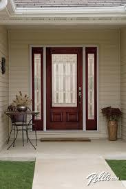 pella front doorsPella Architect Series fiberglass entry doors transform your
