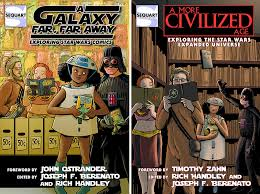 cover art for sequart s trio of upcoming star wars essay books  sw2 3