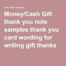 Wedding Thank You Samples Wording For Wedding Thank You Cards Parents 4 Going To The Chapel