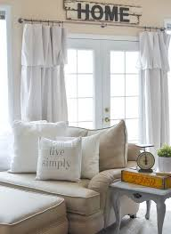 decorating on a budget why accessories really matter farmhouse curtainscurtains for kitchenmake curtainsliving room