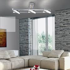 Deckenlampe Chrom Deckenleuchte Led Modern Schwenkbar Lampe