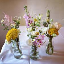 Decorating Jam Jars For Wedding Jam Jar Wedding Flowers Wedding Pinterest Flower Weddings 40