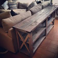 diy sofa table. DIY Sofa Table This Is An Ana White Design. It Could Work Out Well If Diy