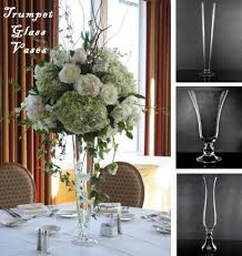 glass vases best 25 trumpet vase centerpiece ideas on tall intended for
