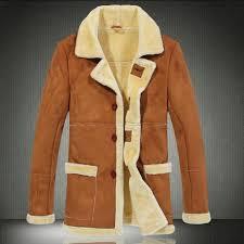 new mens 2016 winter faux shearling sheepskin suede leather jacket thick fur coat warm flight jackets flying wear big size fall coat men clothing jackets