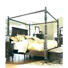 Black Wood Canopy Bed Wood Canopy Bed Frame Wood Canopy Bed Canopy ...