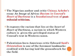 college application topics about colonialism in heart of critical study about the colonialism in ldquoheart of darkness