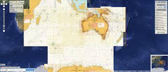Google Marine Maps Charting Geogarage Blog Australia A New Chart Layer In The Marine