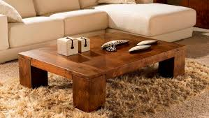 solid wood coffee table set – solid wood construction espresso