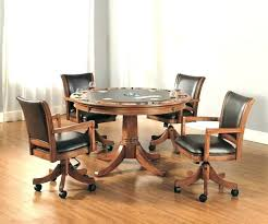 dining room chairs with rollers kitchen chairs on wheels table dining table chairs casters dining table