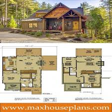 small cabin home plan with open living floor plan open floor with cabin floor plans