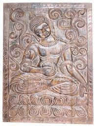 consigned indian vintage sitting buddha