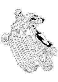 Spiderman Kleurplaten Coloring Page Ultimate Spider Man Spider Man