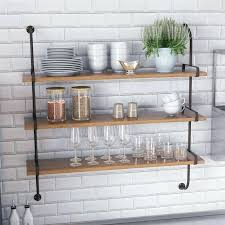 wood metal wall shelves fountain valley wood wall shelf industrial wood and metal wall shelves