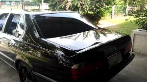 BMW Convertible bmw 735i interior : 735i BMW e32, lowered H&R springs, Koni Shocks, Custom White ...