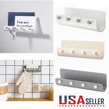 wall mounted organizer mail key holder