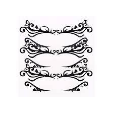 Eye Makeup Sticker Designs Amazon Com Lurrose 3pcs Fabric Eye Shadow Tattoo Sticker