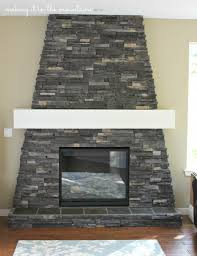 DIY Fireplace Mantel - making it in the mountains