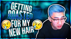 Getting Roasted For My New Hair Youtube